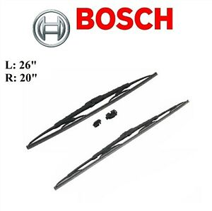 2PCS BOSCH FRONT D-Connect Wiper Blade For TOYOTA CAMRY 18-20/HIGHLANDER 08-19