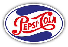 "Pepsi-Cola USA Drink Car Bumper Sticker Decal 5"" x 3''"