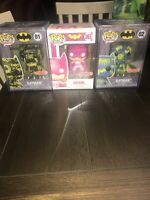 Funko Pop! Batman Target Exclusive Artist Series #01 And #02 363 Lot Of 3 Sealed