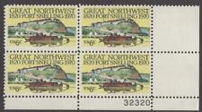 Scott # 1409 - Us Plate Block Of 4 - Fort Snelling - Mnh - 1970