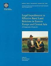 Legal Impediments to Effective Rural Land Relations in Eastern Europe-ExLibrary