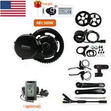 48V 500W BAFANG BBS02B Mid Drive Motor Electric Bicycle Conversion kit US Stock
