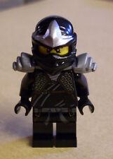 LEGO Ninjago personaggio Cole ZX with armor (Kole NERO BLACK SAMURAI armamenti) NUOVO