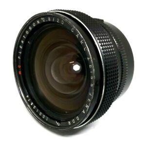Carl Zeiss Flektogon 2.8/20mm red MC, M42 mount