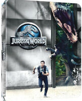 JURASSIC WORLD - STEELBOOK EDITION (BLU-RAY) VERSIONE LIMITATA