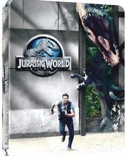 JURASSIC WORLD - STEELBOOK EDITION (BLU-RAY) VERSIONE LIMITATA