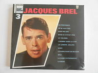 "JACQUES BREL : VOL. 3 ""AU PRINTEMPS"" - [ CD ALBUM NEUF ] - PORT GRATUIT"