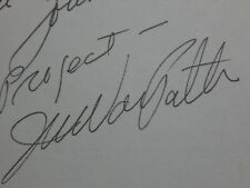 Joyce Van Patten Actress Twilight Zone Signature Autograph Signed Card