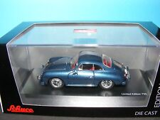 Porsche 356A  in Blau (Blue) 1 of 750 Schuco Diecast 1:43rd New item