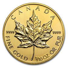 2014 1/10 oz Gold Canadian Maple Leaf Coin - Brilliant Uncirculated - SKU #79045