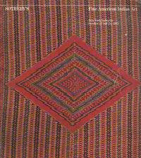SOTHEBY'S AMERICAN INDIAN ART Aleut Eskimo Auction Catalog 1983