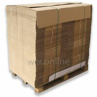 Pallet Listing-Postal Packing Single Walled Cardboard Boxes Mailing Packaging