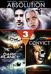 3 Sci-Fi Movie Collection - Absolution/Dark Planet/Convict 762 (Dvd, 2010)