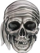 Vorverkauf! 5 $ 2017 Palau - Piratenschädel / Pirate Skull