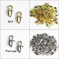 Wholesale Lots Gold Platinum Lobster Clasps for Necklace Bracelet DIY
