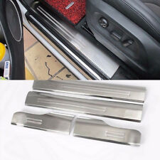 Stainless steel Inside Door Sill Scuff Plate 4pcs For Audi Q5 2009-2015