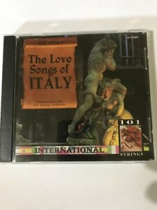The Love Songs Of Italy Cd International