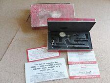 "Vintage Starrett Last Word 711-FS Indicator Case Box Range .030"" Reading .001"""