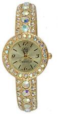 Kirks Folly Fairy Twinkle Bangle Watch-Goldtone-Fits An Average Size Wrist