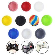10x Xbox PS4 controlador Antideslizante Silicona Negra Cubierta De Tapa De Agarre Palo De Pulgar