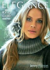 Womens KNITTING PATTERN BOOK Elegance Book 2 King Cole PATTERN BOOK