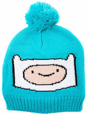 Official Adventure Time - Finn - Unisex Blue Bobble Hat