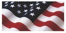 "AMERICAN USA FLAG VINYL DECAL TRUCK TAILGATE CAR WRAP -  48"" x 23"""