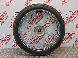 SYM NHT 125 EFI 2020 FRONT WHEEL AND TYRE