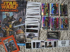 topps STAR WARS  REBELS  stickers album  packets complete set  special P + base