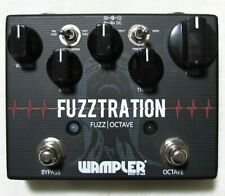 Used Wampler Fuzztration Fuzz and Octave Guitar Effects Pedal