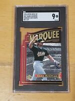 1996 UD SP Marquee Matchups Die-Cut Mark McGwire SGC 9 Newly Graded PSA BGS ?