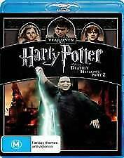 HARRY POTTER AND THE DEATHLY HALLOWS PART 2 BLU RAY - NEW & SEALED FREE POST