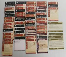DUNGEONS AND DRAGONS MINIATURES ORC & GOBLIN CARDS - 66 Different Cards