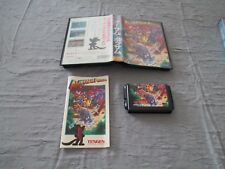 >> AWESOME POSSUM TENGEN PLATFORM SEGA MEGADRIVE JAPAN IMPORT COMPLETE IN BOX <<