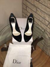 Christian Dior 38.5 / 8.5  BLACK