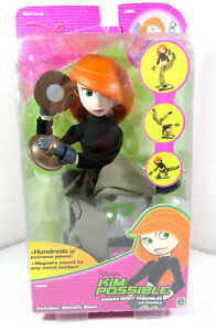 Kim Possible Mission Ready Poseables Figure Toy Disney New in Package