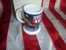 WWF WWE Danbury Mint Kurt Angle Wrestling Mug Glass Limited Ed