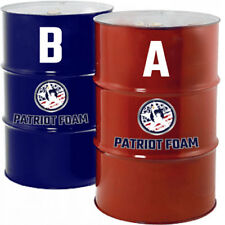 Patriot Foam 200G Closed Cell Spray Foam Insulation in 55 Gallon Drums