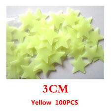 100pcs Home Wall Sticker Glow In The Dark Star Decal For Baby Kids Room Bedroom