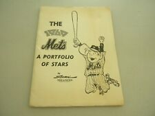THE 1969 METS A PORTFOLIO OF STARS BY STARK COMPLETE 20 PRINTS