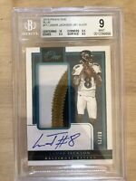 2018 Panini One Lamar Jackson RPA RC Rookie Patch AUTO /25 BGS 9 MINT + 10 Auto