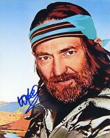 "~~ WILLIE NELSON Authentic Hand-Signed ""Always On My Mind"" 8x10 photo ~~"