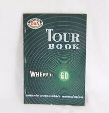 1951-52 Ontario Automobile Association Tour Book