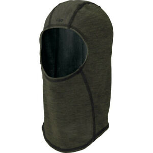 New Outdoor Research Lumen Balaclava Shetland/Military Green Unisex Adults Hat