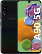"Samsung Galaxy A90 5G SM-A908 128GB+6GB RAM 6,7"" NUOVO Smartphone Android Nero"