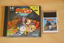 Doraemon Meikyuu Daisakusen Jeu NEC PC Engine Hucard import JAP cib