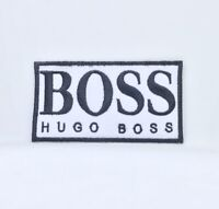Hugo Boss Brand Badge Iron Sew on Embroidered Patch