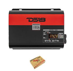 DS18 BC80L 80 Amp Power Supply and Automatic Battery Charger System 14.4v Max