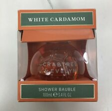 Crabtree & Evelyn White Cardamom Shower Bauble 3.4 Fl. Oz Festive Spiced Floral