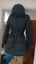 Women's WHITE STUFF Navy Coat. Size 10. Excellent Condition